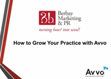 Webinar - How to Grow Your Practice With Avvo