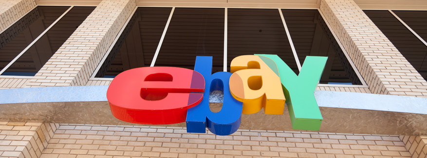 ebay sign outside offices San Jose CA