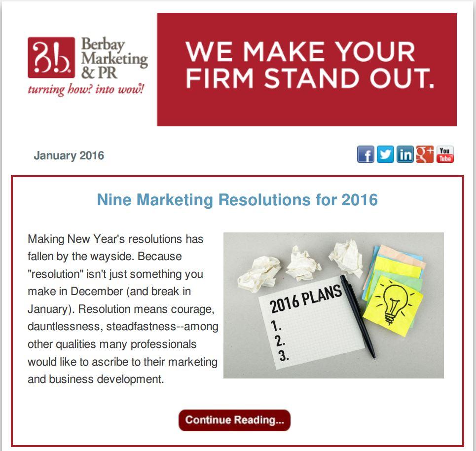2016 Newsletter 1