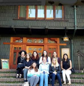 Berbay Visits the Gamble House