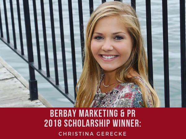 2018 scholarship winner