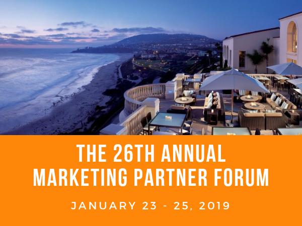 26th Annual Marketing Partner Forum