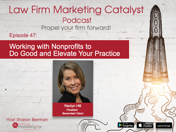 Podcast: Working with Nonprofits to Do Good and Elevate Your Practice