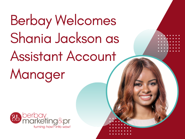 Berbay Welcomes Shania Jackson as Assistant Account Manager