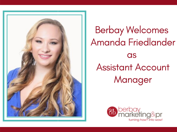 Amanda Friedlander Joins Berbay as Assistant Account Manager