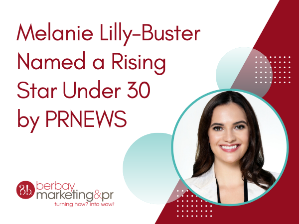 Melanie Lilly-Buster Named a Rising Star Under 30 by PRNEWS