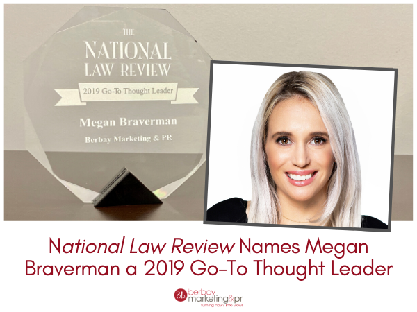 Megan Braverman a 2019 Go-To Thought Leader