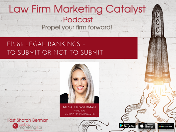 Podcast: Legal Rankings – To Submit or Not to Submit