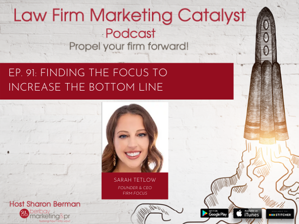 Podcast: Finding the Focus to Increase the Bottom Line with Sarah Tetlow, Founder & CEO of Firm Focus