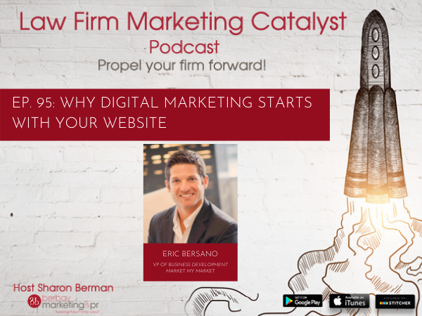 Podcast: Why Digital Marketing Starts with Your Website with Eric Bersano, VP of Business Development at Market My Market